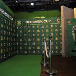 Nedbank branding during the 2017 Nedbank Cup Last 8 Draw at Supersport Studios, Randburg South Africa on the 10 April 2017 ©Muzi Ntombela/BackpagePix